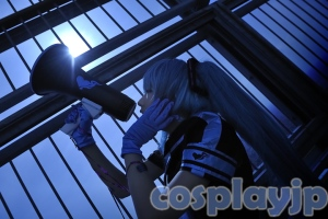 Miku Hatsune from Vocaloid Cosplay Photo