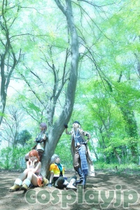 FINAL FANTASY XIII Cpsplay photo in Japan