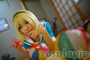 Hojo Satoko from Higurashi no naku koro ni Cosplay Photo in Japan