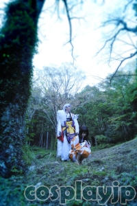 Sesshoumaru and Rin from INUYASHA Cosplay Photo in Japan