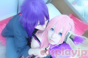 [World is Mine] Miku Hatsune and Gakupo from Vocaloid Cosplay Photo in Japan