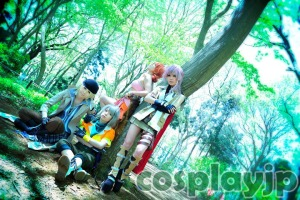 FINAL FANTASY XIII Cosplay PHOTO in Japan