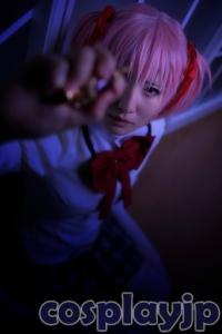 Madoka Kaname from madoka magica Cosplay Photo in Japan