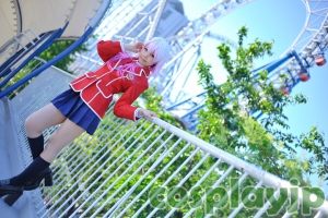 Inori from Guilty Crown Cosplay Photo in Japan