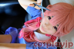 Yuno Gasai from Future diary (Mirai Nikki) Cosplay Photo in Japan