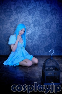 Fish Girl (Sakana-chan) from Star Driver: Kagayaki no Takuto Cosplay Photo in Japan