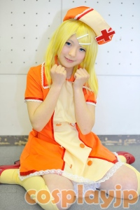 [Love Colored Hospital] Rin Kagamine from Vocaloid Cosplay Photo in Japan