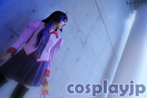 Hitagi from Bakemonogatari Cosplay Photo in Japan