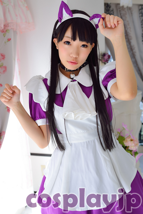 Original maid costume Cosplay Photo in Japan